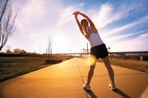 Exercițiile fizice sunt obiceiuri sănătoase zilnice