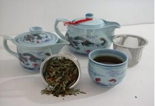 Ceaiul albastru are multe proprietăți benefice