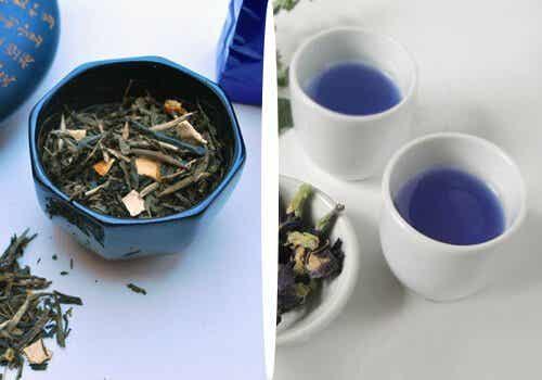 Slăbește natural ajutându-te de ceaiul albastru