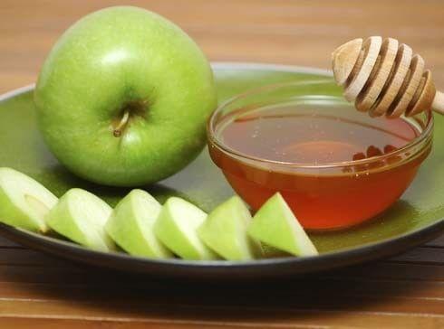 Mască de față din mere