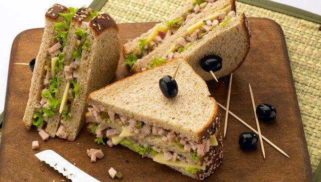 Sandviș pentru un mic dejun apetisant