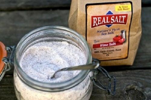 Tratament pentru sinuzită cu sare