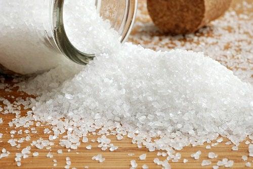 Elimină sarea din organism