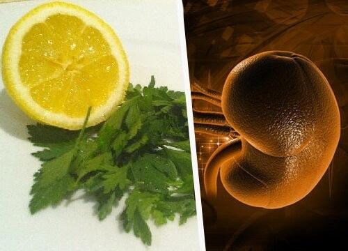 Detoxificarea rinichilor cu lămâie și pătrunjel!