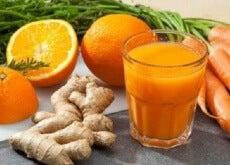 Smoothie de portocale