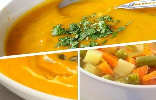 Supă cremă delicioasă pentru slăbit – 5 rețete
