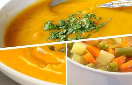 Supă cremă delicioasă pentru slăbit - 5 rețete