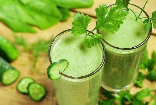 Beneficiile clorofilei care se găsește în legumele verzi