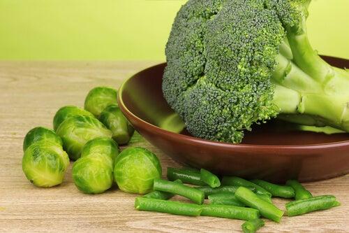 Legume anticancerigene: broccoli și varză de Bruxelles