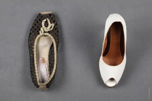 Mirosul neplăcut din pantofi eliminat cu pudră de talc