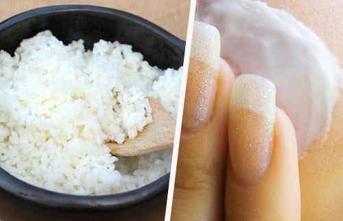 Cum să-ți întinerești fața cu orez!