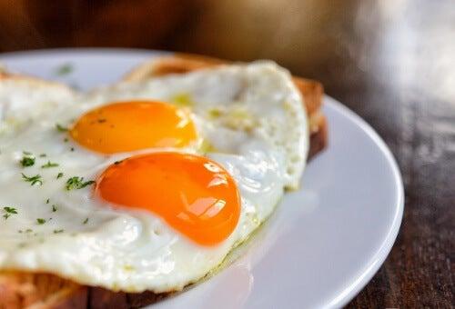 Ouăle prăjite