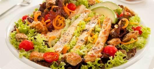 Salată cu semințe de in