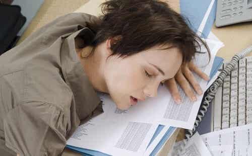 5 probleme cauzate de somnul insuficient