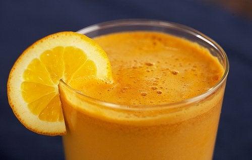 Suc de portocale pentru ameliorarea durerii în sindromul de tunel carpian
