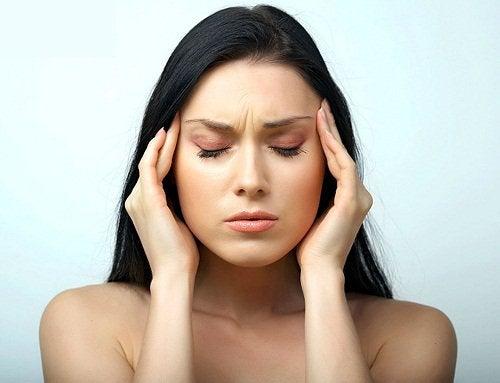 Femeie la 40 de ani afectată de stres
