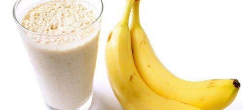 Bananele combat retenția de apă