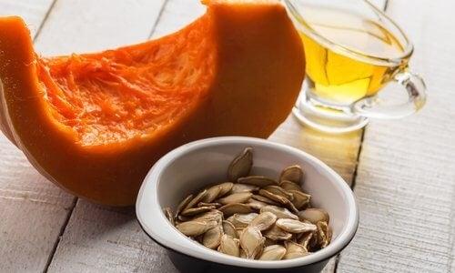 Dovleacul este util pentru a elimina acidul uric