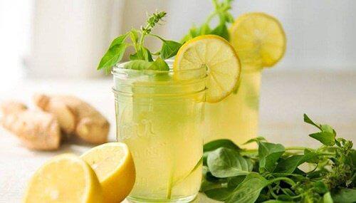 Limonada cu ghimbir arde grăsimea