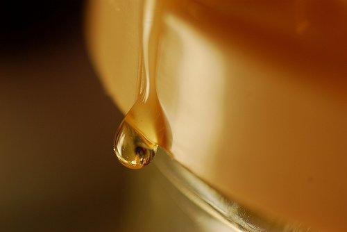 Miere pentru îndulcire smoothie