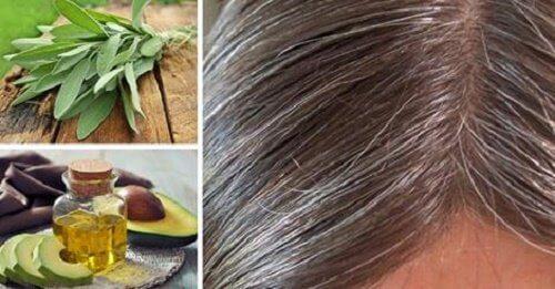 Păr alb: cauze și remedii naturale