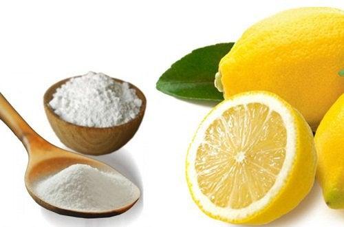 Remediu cu bicarbonat de sodiu și lămâie