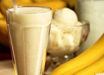 Smoothie de banane pentru oboseala mentală