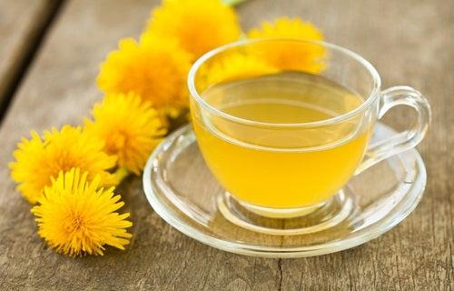 Steatoza hepatică: ceai de păpădie