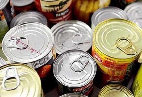 Alimentele conservate sunt alimente cancerigene