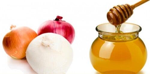 Mască din ceapă și miere pentru părul tău
