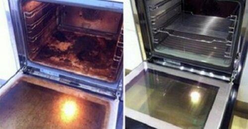 Cum să cureți cuptorul cu produse naturale