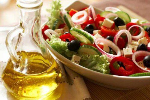 Dietă mediteraneană pentru a elimina colăceii de grăsime