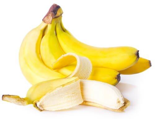 Fructe pentru tratarea gastritei precum bananele