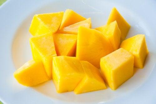 Bucăți de mango