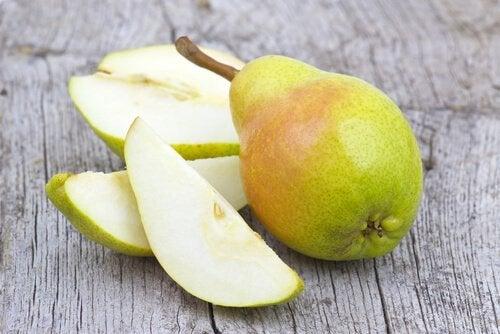 Perele sunt printre cele mai bune fructe pentru tratarea gastritei