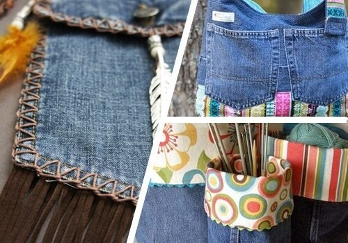 9 moduri de a refolosi blugii vechi