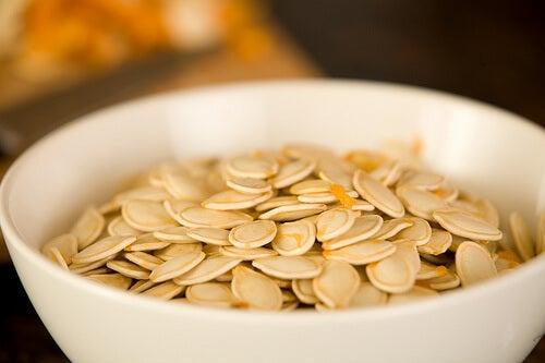 Castron cu semințe de dovleac