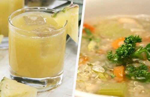 Alimente care elimină mucusul