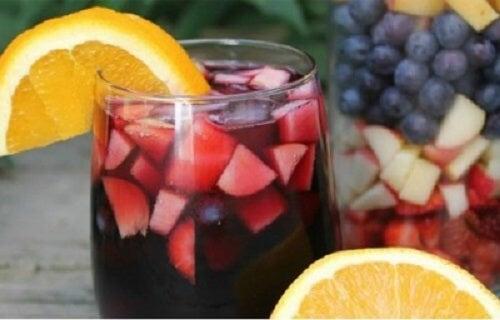Băutură din fructe pentru longevitate