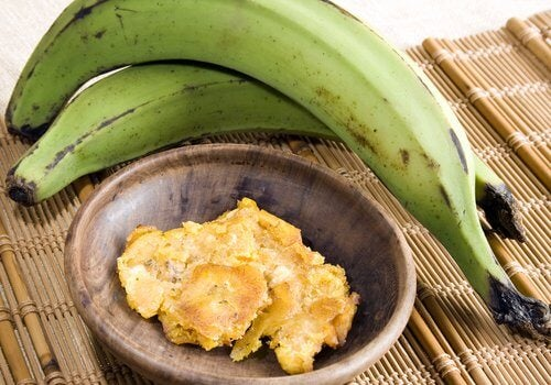Bananele verzi sunt mai puțin dulci