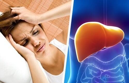 Legătura dintre durerea de cap și ficat