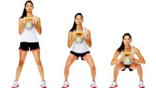 Genuflexiunile îți fac mușchii fesieri mai fermi
