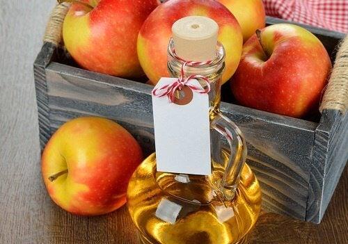 Cutie cu oțet de mere
