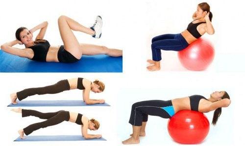 Exercițiile abdominale te ajută să ai un pH echilibrat