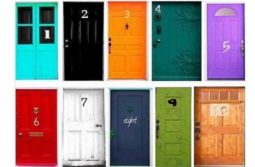 10 uși diferite pentru test de personalitate