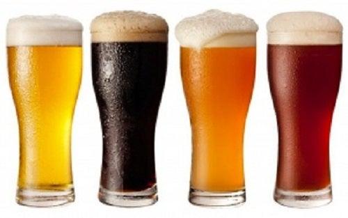 Tipuri diferite de bere