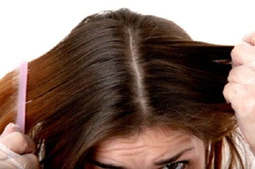Măști care îndreaptă părul gras