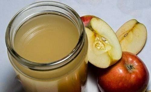 Oțet de mere natural preparat în casă