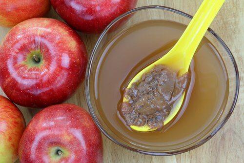 Oțet de mere natural