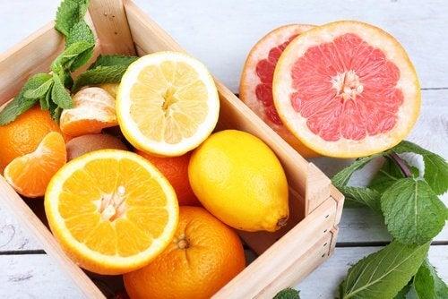 Vitamina C din citrice combate depresia